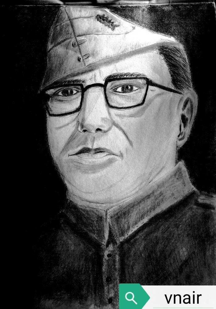 Subhas Chandra Bose by vinodnair